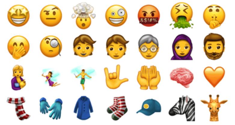 emojis unicode dez um