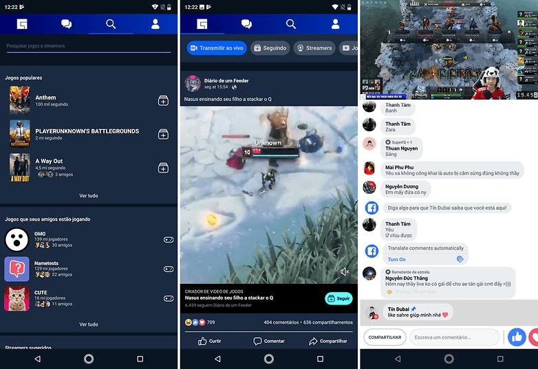 facebook gaming download
