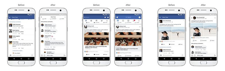facebook new visual update