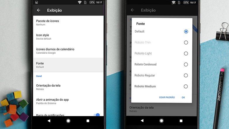 8bb826e04 Como mudar a fonte padrão do seu Android e personalizar o seu ...