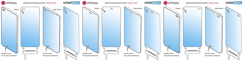 full screen smartphones side