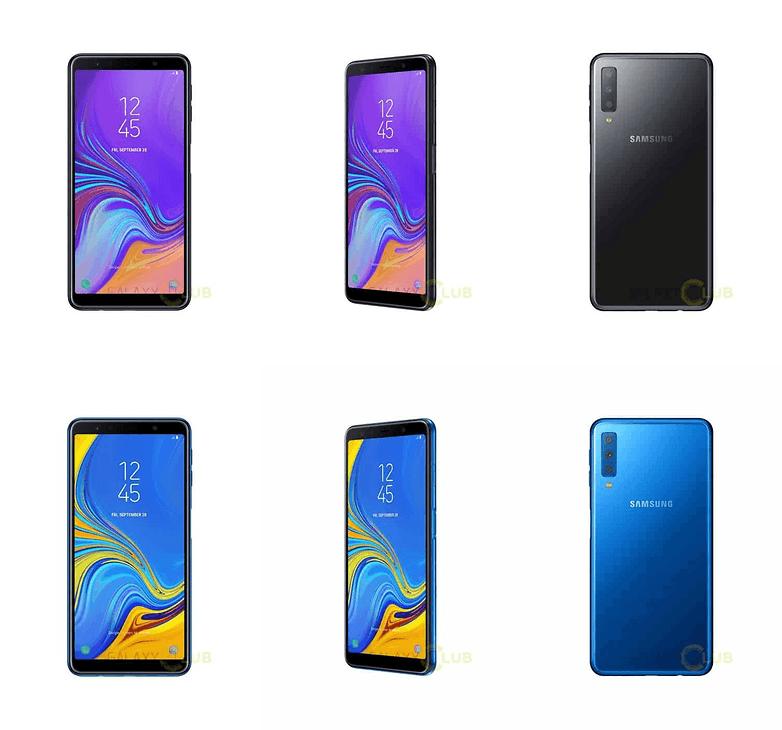 galaxy a7 2018 renders 1 tile