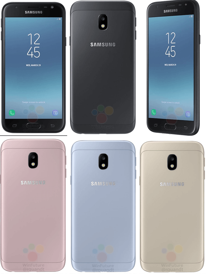 galaxy j3 side leak