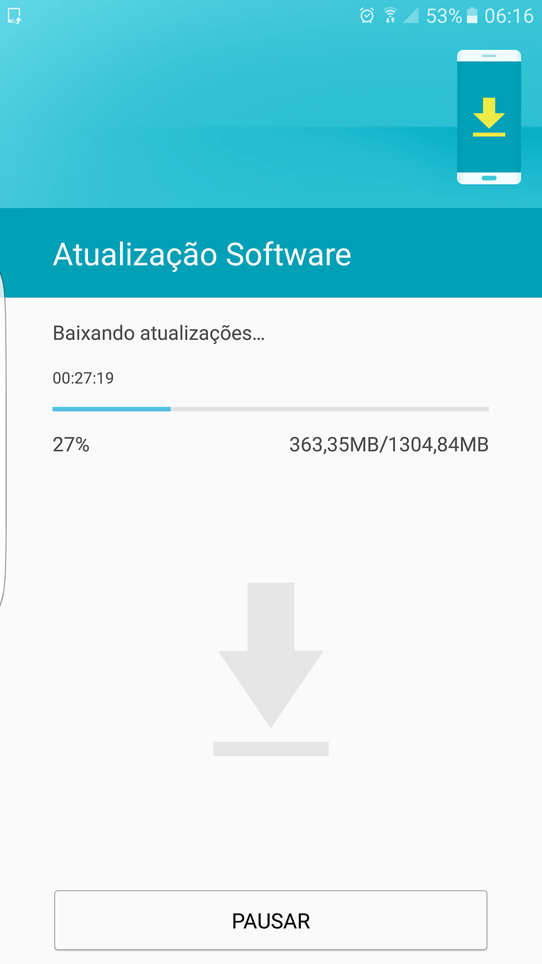galaxy s7 edge update brasil