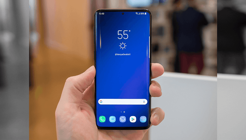 Infinity-O: Samsung starts mass production for Galaxy S10