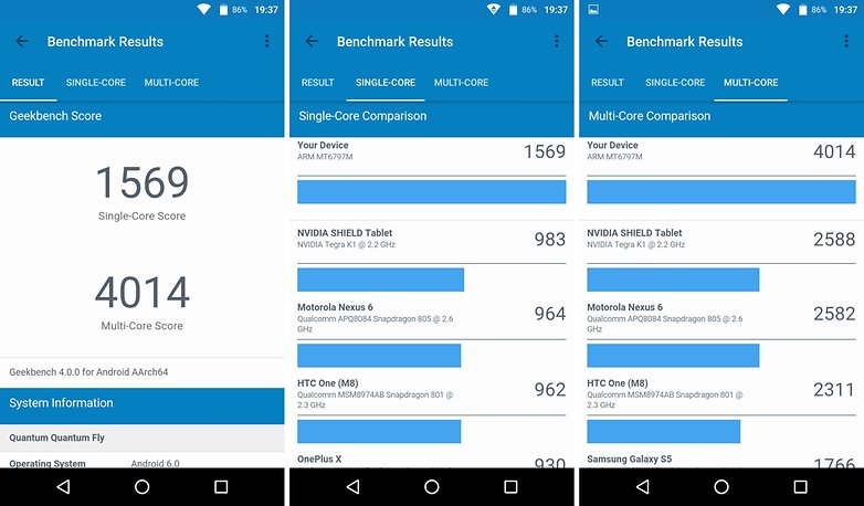 geekbench quantum fly