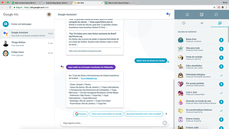 google allo web version