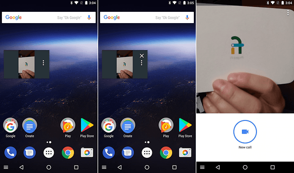 google duo pick picture