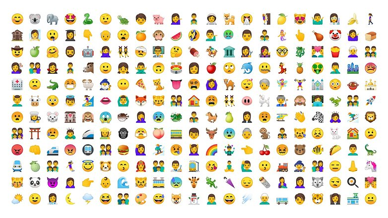 google new emoji android