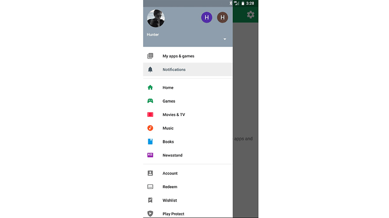 google play notificacoes update beta
