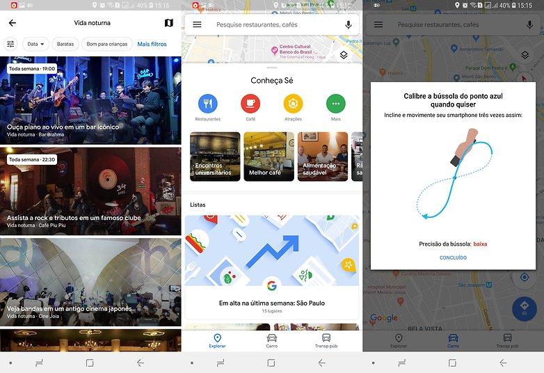 googlemaps update visual rotas