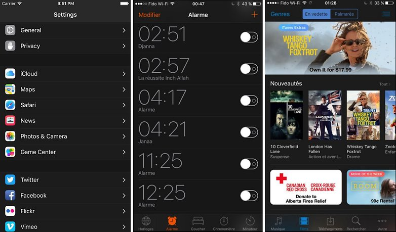 ios 10 dark theme mode