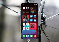 iPhone 12 apresenta problemas na tinta e vidro quebrado mesmo sem queda