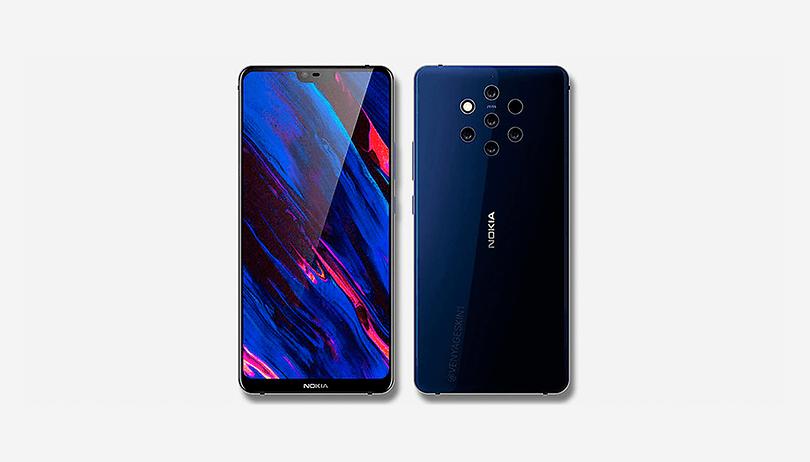 Nokia 9 PureView e le sue 6 fotocamere svelati in queste immagini