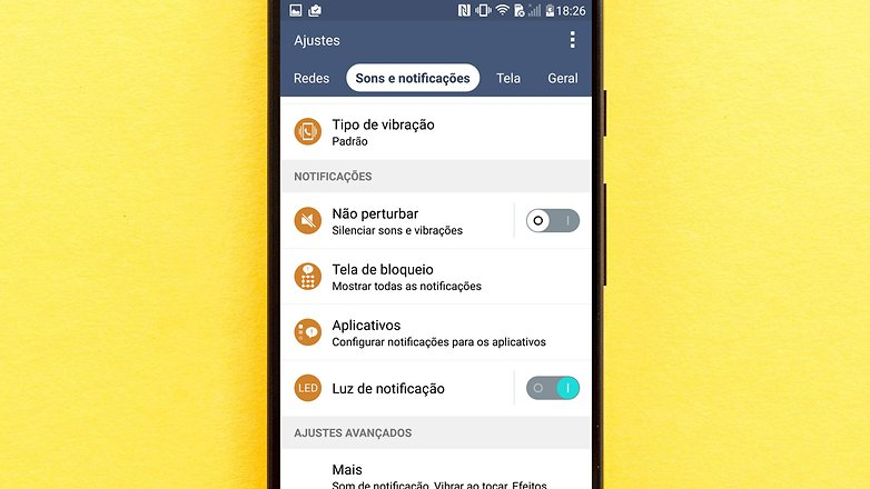 led notificacao g3 tips