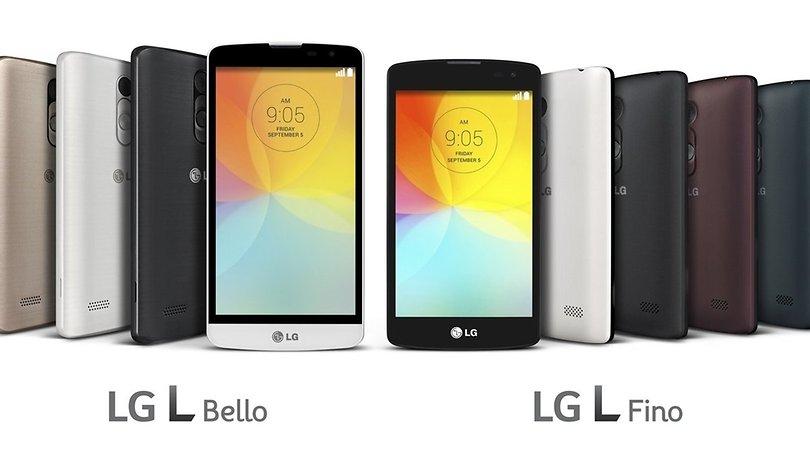LG L Bello und L Fino: G3-Software für unter 200 Euro zur IFA 2014