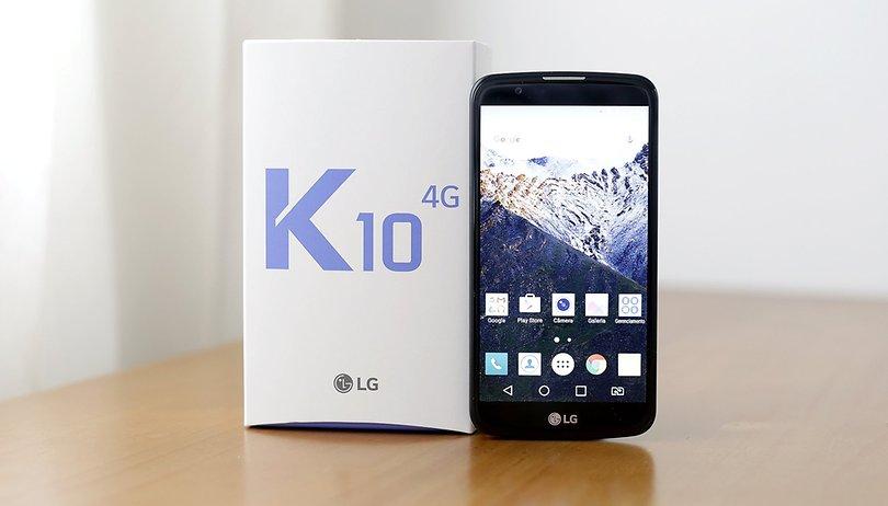 Test du LG K10 : un smartphone au goût d'inachevé