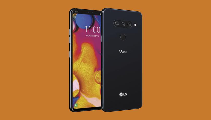 LG V40 ThinQ é lançado com notch na tela e câmera tripla