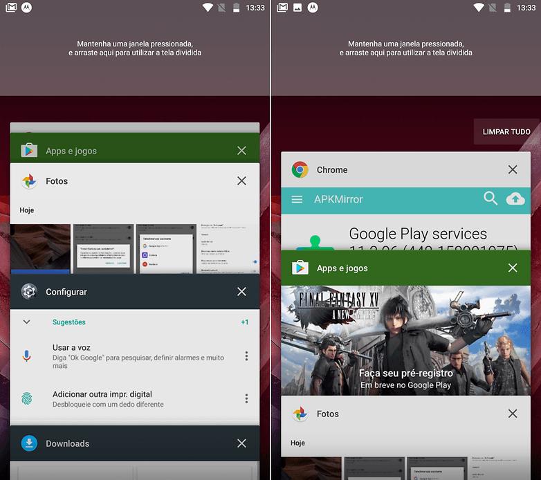 limpar tudo multitask android tips