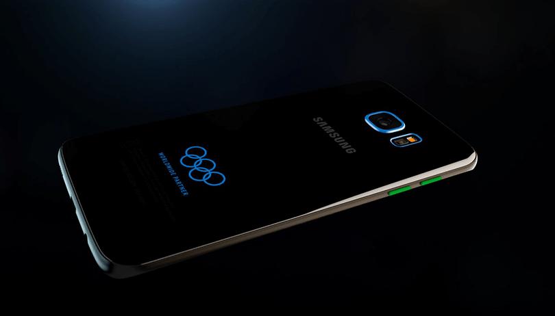 """O Galaxy S7 Edge """"olímpico"""" é uma bela ação de marketing da Samsung. E só"""