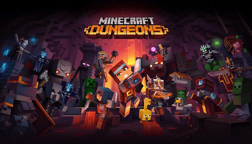 Minecraft Dungeons: patch de atualização agora disponível para Xbox e Windows
