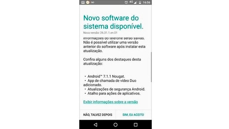 moto x play andorid nougat update new