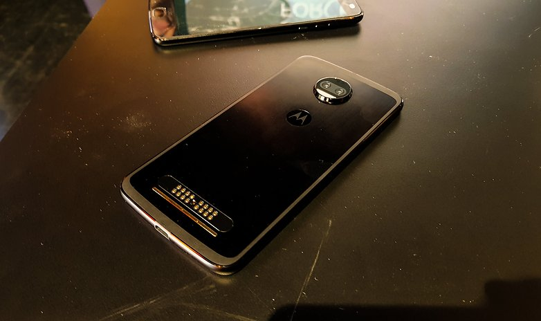 moto z2 force hero hands on