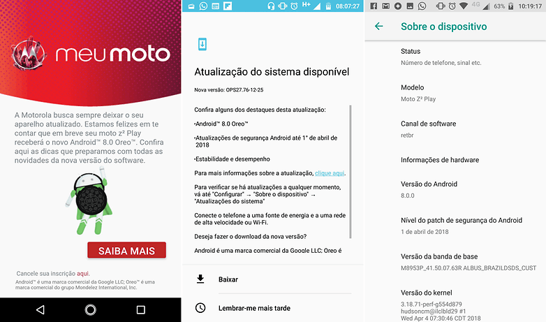 moto z2 play apit user update