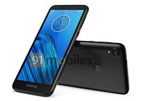 Moto E6 aparece em imagem sem leitor de digitais e com tela MaxVision de 18:9