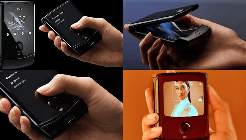Motorola Razr com tela dobrável deve ser lançado em 13 de novembro