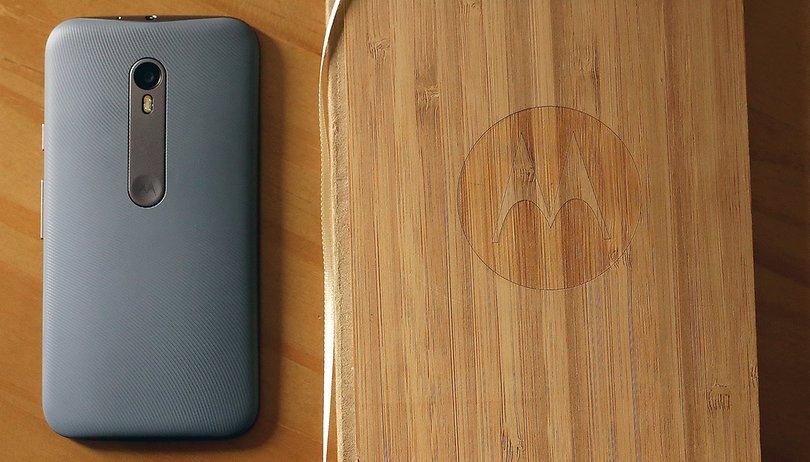 Hoje a Motorola deu um banho de água fria nos usuários do Moto G 2015