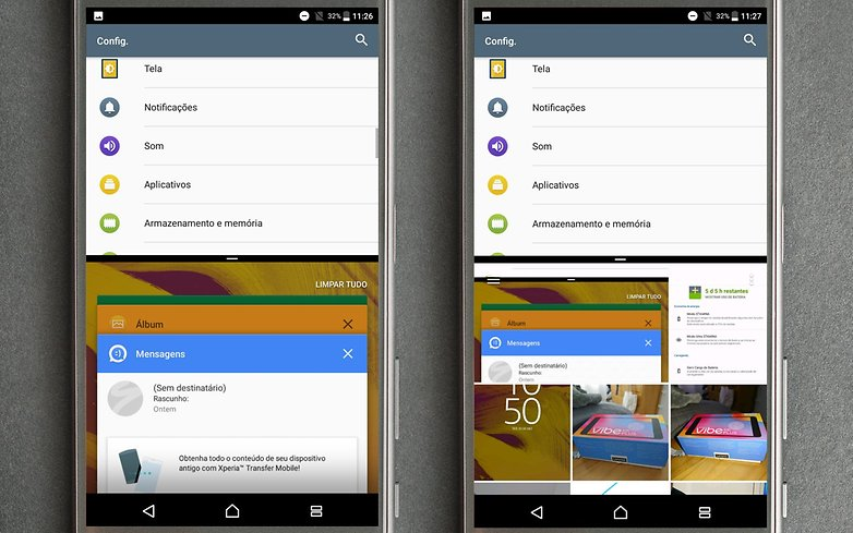 multiwindow xperia nougat