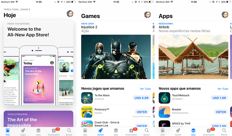 new app store ios