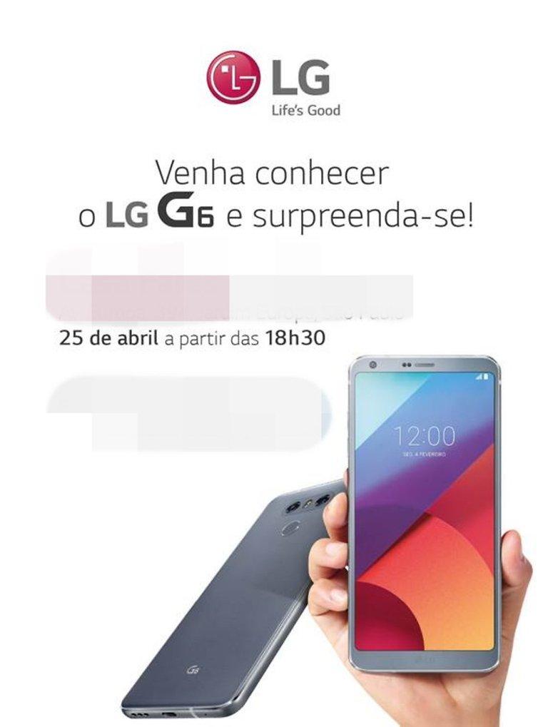 novo lg g6 lancamento brasil
