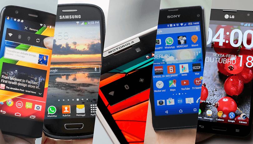 Enquete: qual foi seu primeiro smartphone Android?