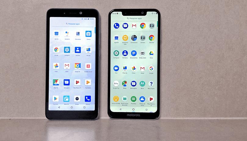 Quais diferenças existem entre Android Go e One?