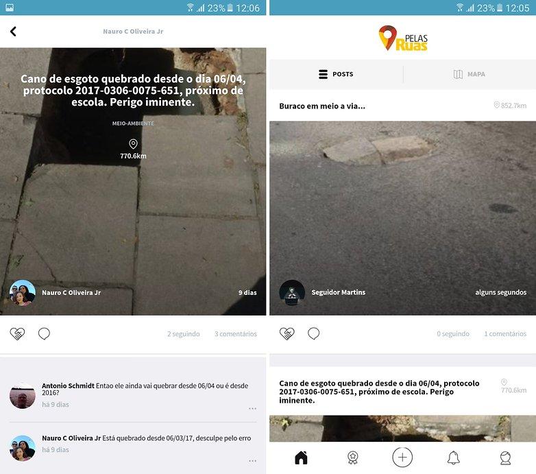 pelas ruas new apps