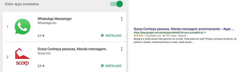 scorp mensagens anonimas