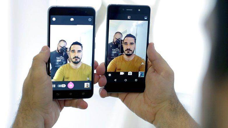 selfie zenfone 3 quantum fly