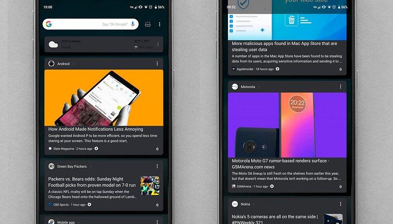 Google está testando tema escuro para o app de buscas do Android