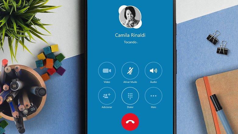 skype voice call