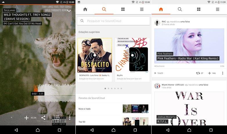 soundcloud app list streaming