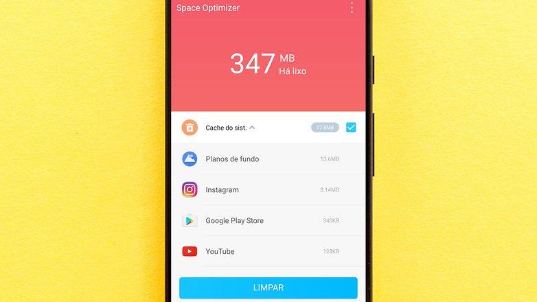 space otimizer app clean