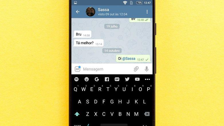 tag user mention telegram