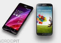 Asus Zenfone 5 vs. Samsung Galaxy S4: qual você deve escolher?