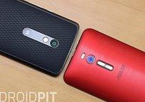 Moto X Play vs Zenfone 2: 5,5 pulgadas para todos los públicos