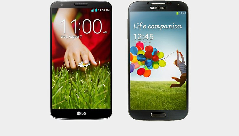 Samsung Galaxy S4 vs. LG G2: ainda vale um top de 2013 em 2015?
