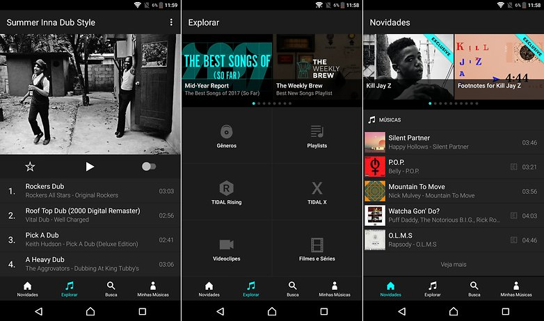 tidal app list streaming