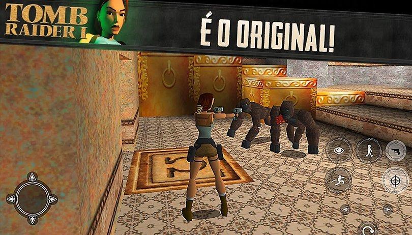 Tomb Raider chega ao Android
