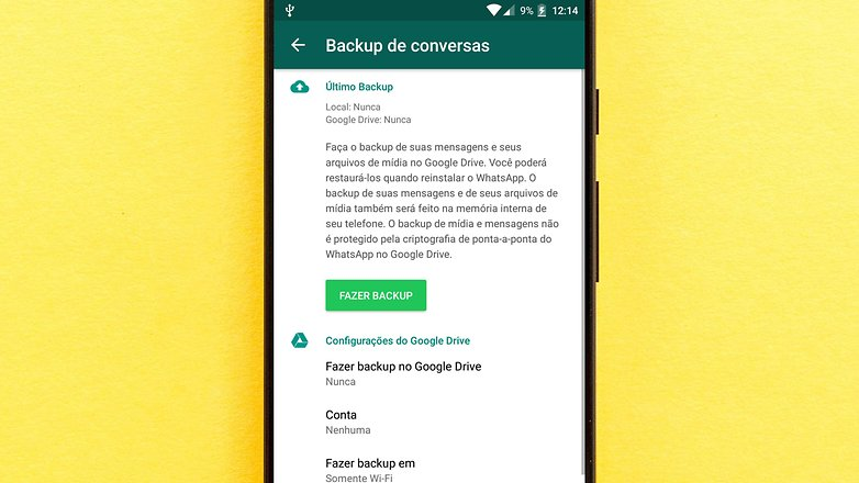 whatsapp backup wifi sfirst